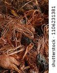 copper wire raw materials | Shutterstock . vector #1106231381