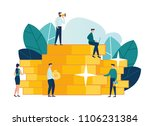 vector illustration of a... | Shutterstock .eps vector #1106231384