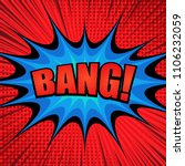 comic bright super template... | Shutterstock .eps vector #1106232059