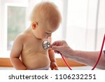 little baby boy  toddler child... | Shutterstock . vector #1106232251