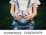 pregnancy  son daughter  twins... | Shutterstock . vector #1106241479