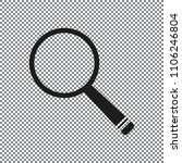 vector icon magnifier on a... | Shutterstock .eps vector #1106246804