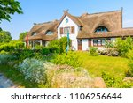 Traditional House With Thatched ...