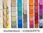 catalog of multicolored cloth... | Shutterstock . vector #1106265974
