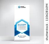 creative advertising banner ... | Shutterstock .eps vector #1106281694
