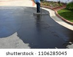 private drive way  street... | Shutterstock . vector #1106285045