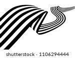 abstract black and white... | Shutterstock .eps vector #1106294444