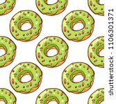 seamless pattern with colorful ... | Shutterstock . vector #1106301371