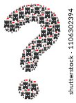 faq shape created from fortress ...   Shutterstock .eps vector #1106302394