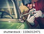 car inspection before buy....   Shutterstock . vector #1106312471