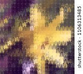 abstract vector tweed texture... | Shutterstock .eps vector #1106313485