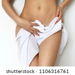 concept of body care gynecology ... | Shutterstock . vector #1106316761