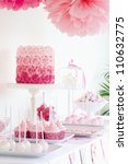 dessert table | Shutterstock . vector #110632775