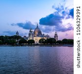 beautiful  victoria memorial... | Shutterstock . vector #1106329391