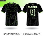 sports jersey template for team ...   Shutterstock .eps vector #1106335574