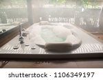bathtub in bathroom | Shutterstock . vector #1106349197