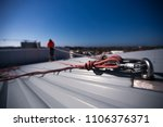 rope access height safety... | Shutterstock . vector #1106376371