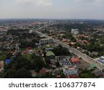 aerial view of the road at... | Shutterstock . vector #1106377874