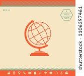 globe icon symbol   Shutterstock .eps vector #1106397461
