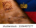 industrial poster is made in... | Shutterstock . vector #1106407277
