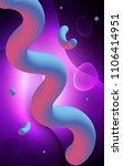dark purple vertical pattern... | Shutterstock . vector #1106414951