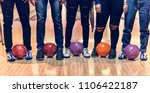 Small photo of Time with friends at a bowling alley
