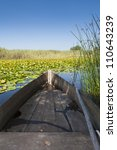 Old Bass Boats On A Swamp With...