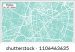 padua italy city map in retro... | Shutterstock . vector #1106463635