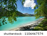 beautiful lake of achensee in... | Shutterstock . vector #1106467574