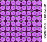 trendy print on a purple... | Shutterstock .eps vector #1106468285