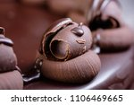 rich and indulgent chocolate... | Shutterstock . vector #1106469665