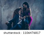 portrait of harsh boss in...   Shutterstock . vector #1106476817
