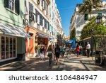 gibraltar  uk   may 18  2017 ... | Shutterstock . vector #1106484947