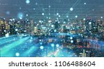 smart city concept. iot... | Shutterstock . vector #1106488604