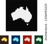 map of australia   Shutterstock .eps vector #1106492225