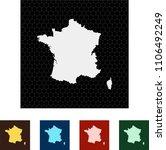 map of france   Shutterstock .eps vector #1106492249