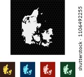 map of denmark   Shutterstock .eps vector #1106492255