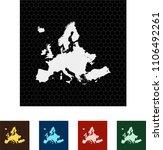 map of europe   Shutterstock .eps vector #1106492261