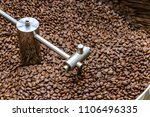 coffee beans are cooled in the... | Shutterstock . vector #1106496335