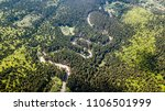 winding road from high mountain ... | Shutterstock . vector #1106501999