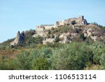 scenic view on ancient castle... | Shutterstock . vector #1106513114