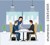 group of business people vector | Shutterstock .eps vector #1106514035