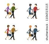 business characters vector... | Shutterstock .eps vector #1106515115