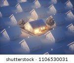 green power home 3d illustration | Shutterstock . vector #1106530031