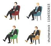 businessmen concept vector... | Shutterstock .eps vector #1106532815