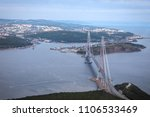 russky bridge   cable stayed... | Shutterstock . vector #1106533469