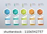 timeline infographics for... | Shutterstock .eps vector #1106542757