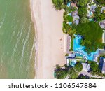 aerial view of swimming pool... | Shutterstock . vector #1106547884