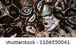 agate umbra gold pattern | Shutterstock . vector #1106550041