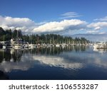 vancouver canada lake scenery.... | Shutterstock . vector #1106553287